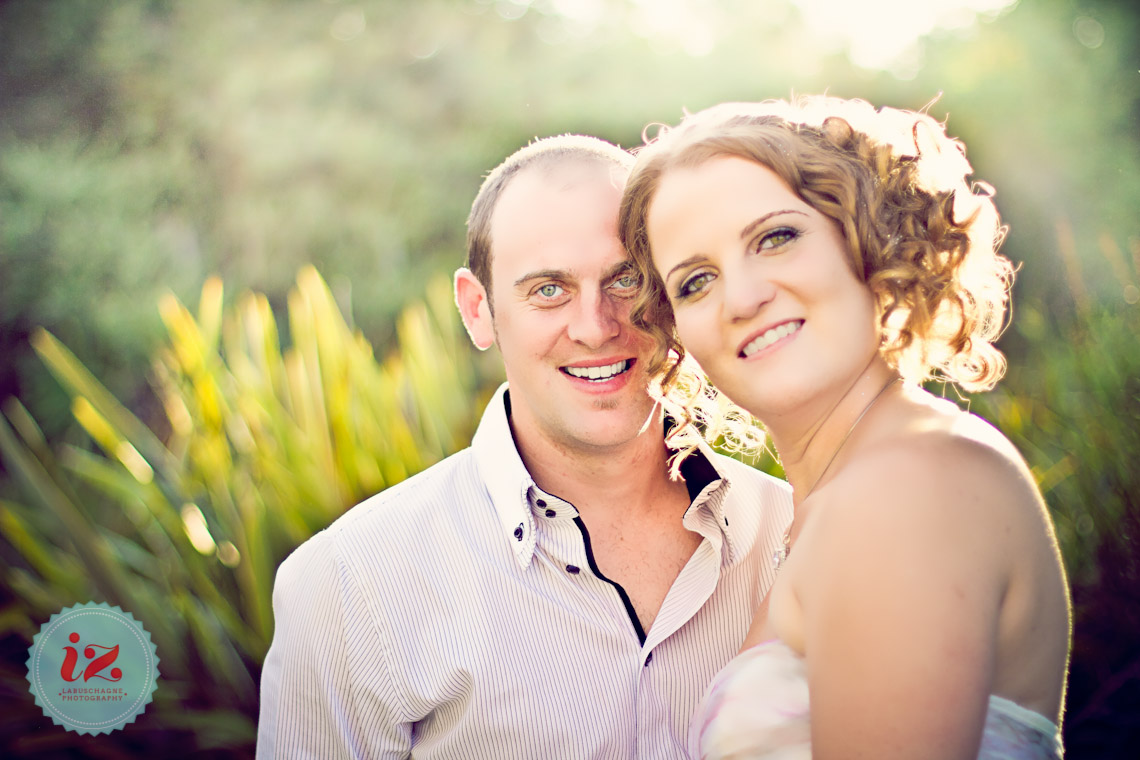 Mr & Mrs Steyn Vintage Picnic Garden Wedding