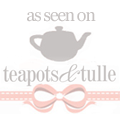 Teapots & Tulle Wedding Inspiration Blog