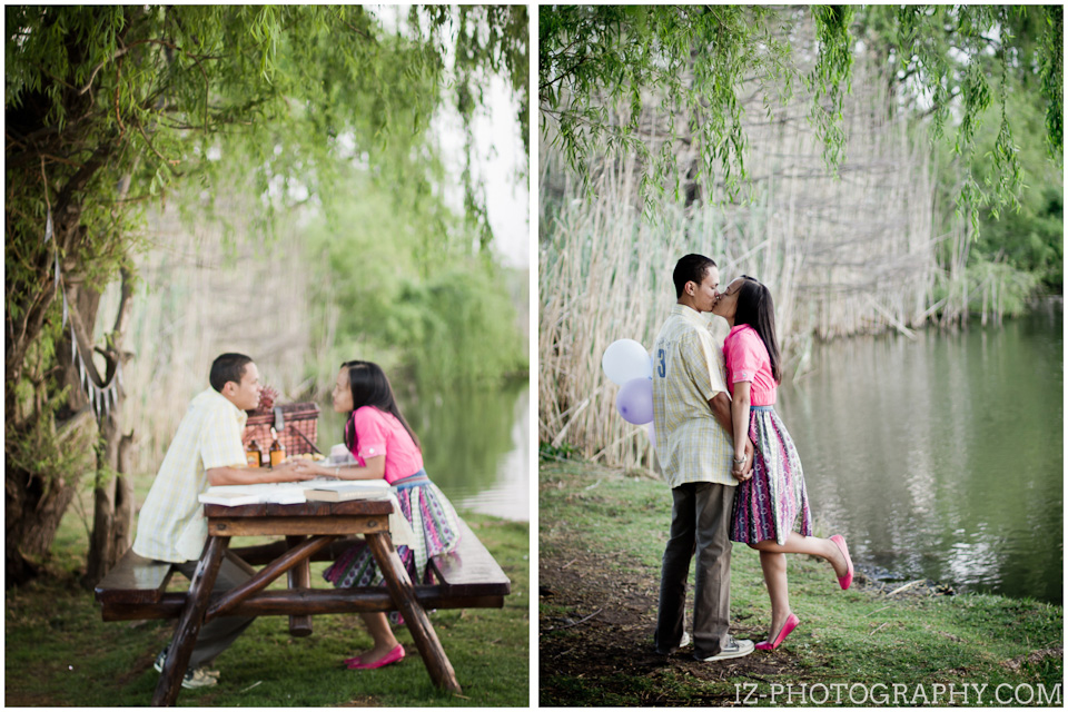 picnic engagement photoshoot in johannesburg south africa